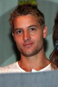 Actor Justin Hartley attends the 'Smallville' panel on day 4 of the 2009 ComicCon International Convention on July 26 2009 in San Diego California