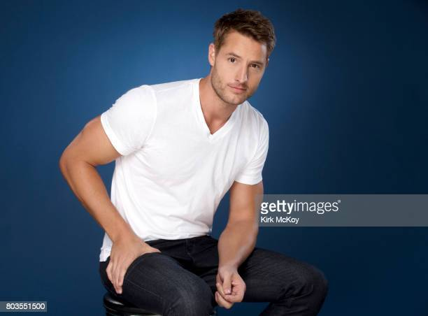 Actor Justin Hartley is photographed for Los Angeles Times on June 22 2017 in Los Angeles California PUBLISHED IMAGE CREDIT MUST READ Kirk McKoy/Los...