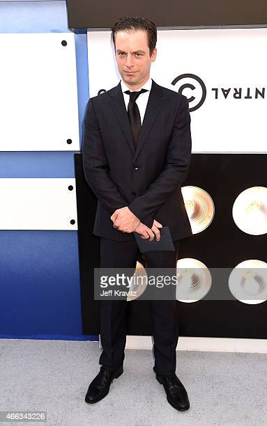 Actor Justin Kirk attends The Comedy Central Roast of Justin Bieber at Sony Pictures Studios on March 14 2015 in Los Angeles California