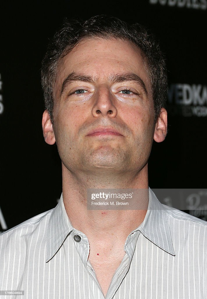 Actor <a gi-track='captionPersonalityLinkClicked' href=/galleries/search?phrase=Justin+Kirk&family=editorial&specificpeople=242806 ng-click='$event.stopPropagation()'>Justin Kirk</a> attends the screening of Magnolia Pictures' 'Drinking Buddies' at the ArcLight Cinemas on August 15, 2013 in Hollywood, California.