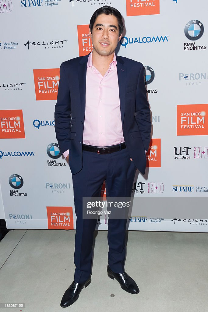 Actor Justin Nappi arrives at San Diego Film Festival's tribute to honor Judd Apatow at Museum of Contemporary Art on October 3, 2013 in La Jolla, California.