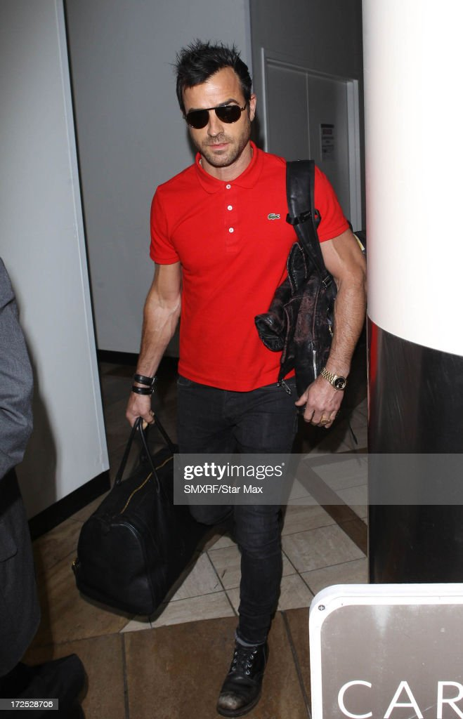 Actor Justin Theroux as seen on July 2, 2013 in Los Angeles, California.