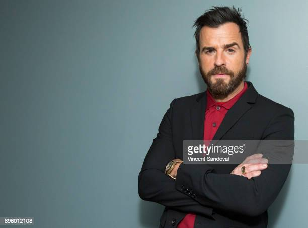 Actor Justin Theroux attends SAGAFTRA Foundation's Conversations with 'The Leftovers' at SAGAFTRA Foundation Screening Room on June 19 2017 in Los...