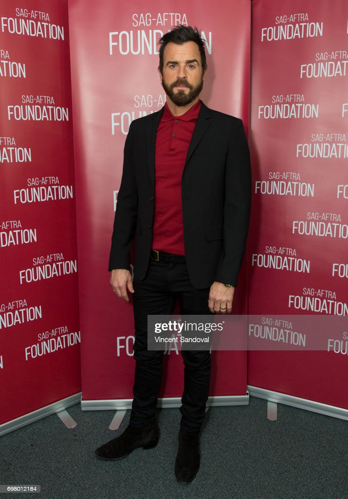 Actor Justin Theroux attends SAG-AFTRA Foundation's Conversations with 'The Leftovers' at SAG-AFTRA Foundation Screening Room on June 19, 2017 in Los Angeles, California.
