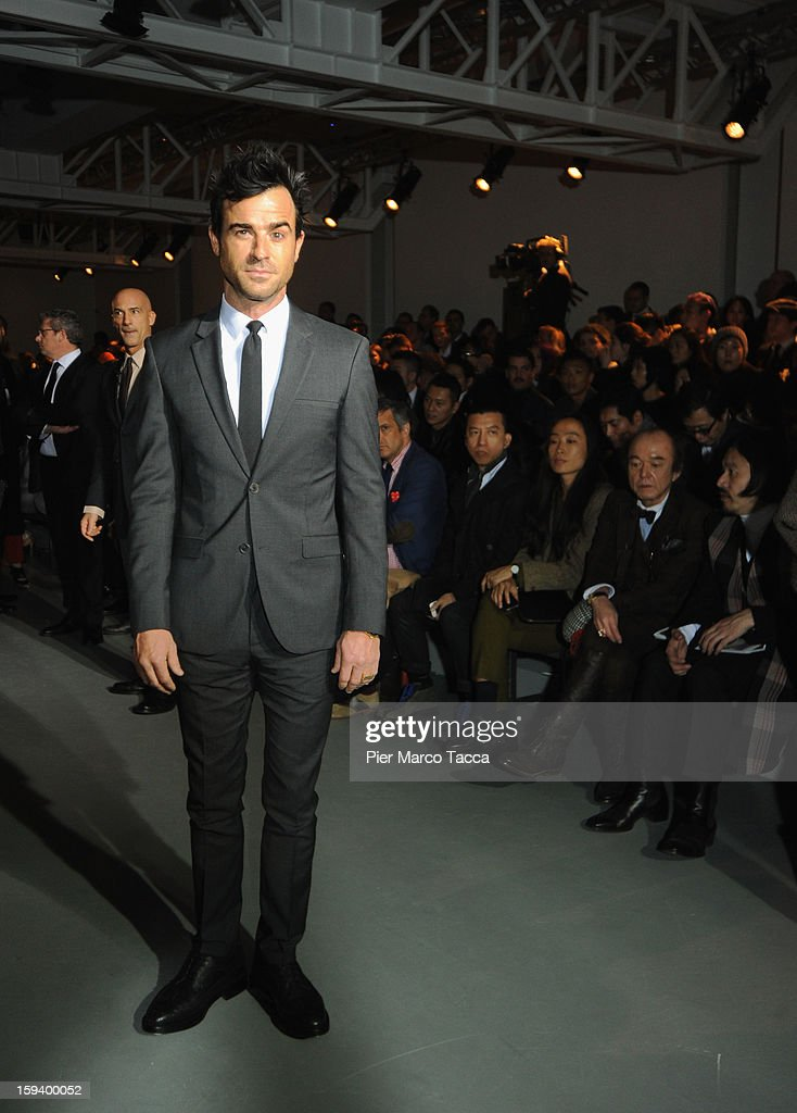 Calvin Klein Collection - Front Row - Milan Fashion Week Menswear Autumn/Winter 2013