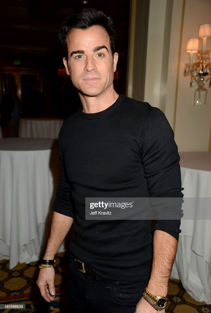 Actor Justin Theroux attends the HBO Winter 2014 TCA Panel at The Langham Huntington Hotel and Spa on January 9 2014 in Pasadena California