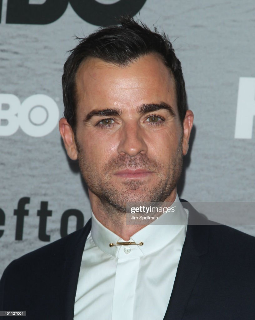 Actor <a gi-track='captionPersonalityLinkClicked' href=/galleries/search?phrase=Justin+Theroux&family=editorial&specificpeople=240634 ng-click='$event.stopPropagation()'>Justin Theroux</a> attends 'The Leftovers' premiere at NYU Skirball Center on June 23, 2014 in New York City.