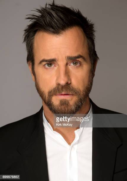 Actor Justin Theroux is photographed for Los Angeles Times on April 28 2017 in Los Angeles California PUBLISHED IMAGE CREDIT MUST READ Kirk McKoy/Los...