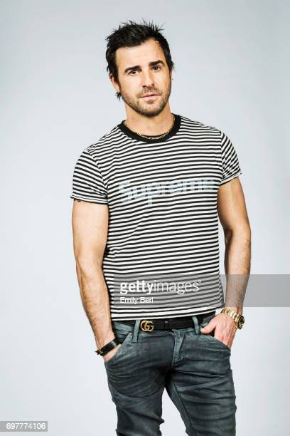 Actor Justin Theroux is photographed for New York Times on March 27 2017 in Los Angeles California