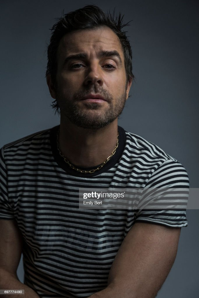 Actor Justin Theroux is photographed for New York Times on March 27, 2017 in Los Angeles, California.