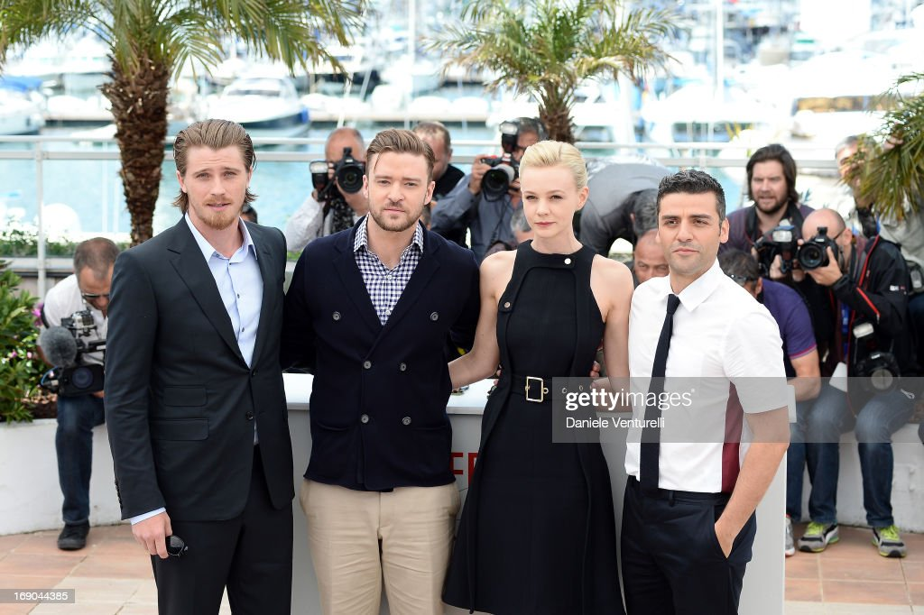 Actor Justin Timberlake, actress Carey Mulligan, actor Oscar Isaac and director Joel Coen attend the photocall for 'Inside Llewyn Davis' during the 66th Annual Cannes Film Festival at Palais des Festivals on May 19, 2013 in Cannes, France.