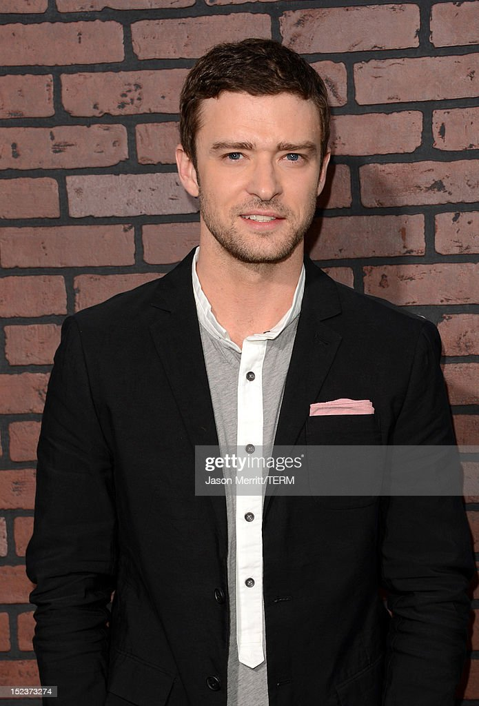Actor <a gi-track='captionPersonalityLinkClicked' href=/galleries/search?phrase=Justin+Timberlake&family=editorial&specificpeople=157482 ng-click='$event.stopPropagation()'>Justin Timberlake</a> arrives at Warner Bros. Pictures' 'Trouble With The Curve' premiere at Regency Village Theatre on September 19, 2012 in Westwood, California.