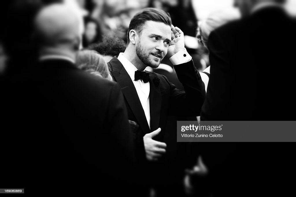 Actor <a gi-track='captionPersonalityLinkClicked' href=/galleries/search?phrase=Justin+Timberlake&family=editorial&specificpeople=157482 ng-click='$event.stopPropagation()'>Justin Timberlake</a> attends 'Inside Llewyn Davis' Premiere during the 66th Annual Cannes Film Festival at Palais des Festivals on May 19, 2013 in Cannes, France.