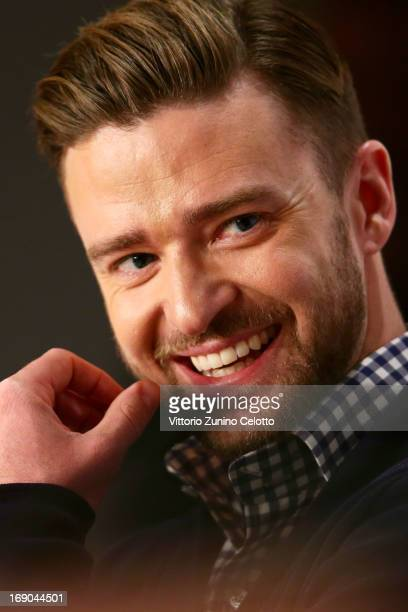 Actor Justin Timberlake attends the 'Inside Llewyn Davis' Press Conference during The 66th Annual Cannes Film Festival at Palais des Festivals on May...