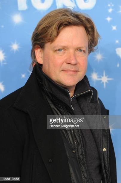 Actor Justus von Dohnanyi attends the Yoko Premiere at the Mathaeser Filmpalast on February 5 2012 in Munich Germany
