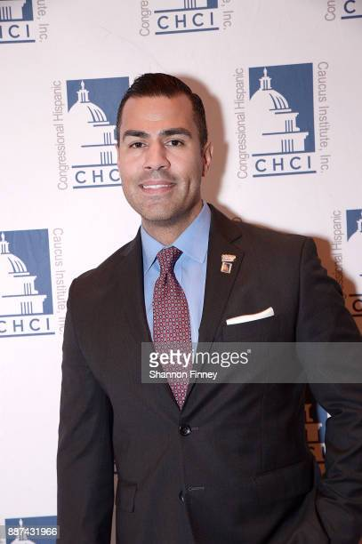 Actor JW Cortes attends the Congressional Hispanic Caucus Institute Holiday Reception benefitting Puerto Rico youth at the Library of Congress James...