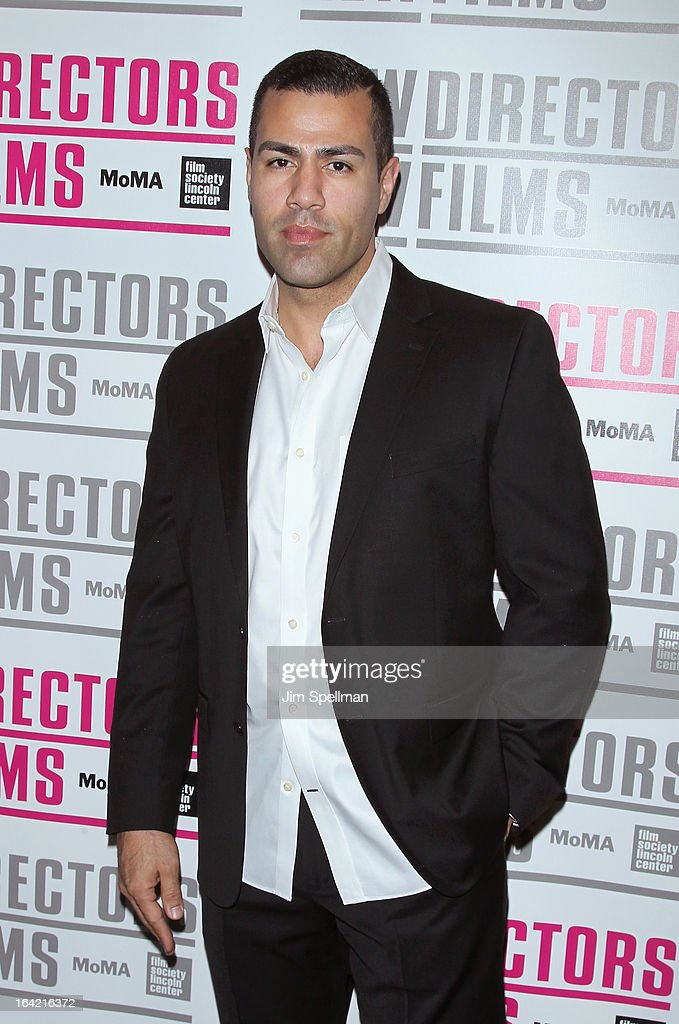 Actor JW Cortes attends the New Directors/New Films 2013 Opening Night screening of 'Blue Caprice' at the Museum of Modern Art on March 20, 2013 in New York City.