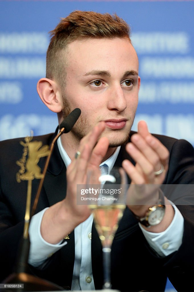 Actor Kacey Mottet Klein attends the 'Being 17' (Quand on a 17 ans) press conference during the 66th Berlinale International Film Festival Berlin at Grand Hyatt Hotel on February 14, 2016 in Berlin, Germany.