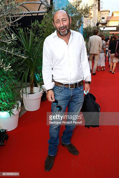 Actor Kad Merad attends the 'Cezanne et Moi' Premiere Held at the Cinema 'Le Cezanne' on September 12 2016 in AixenProvence France