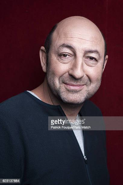 Actor Kad Merad is photographed for Paris Match on October 26 2016 in Paris France