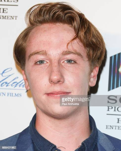 Actor Kai Schulz attends the premiere of 'A Cowgirl's Story' at Pacific Theatres at The Grove on April 13 2017 in Los Angeles California