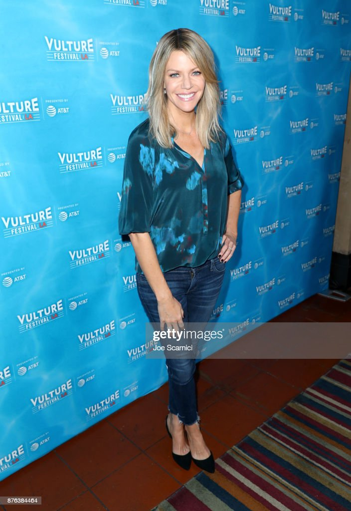 Actor Kaitlin Olson attends the 'It's Always Sunny' panel, part of Vulture Festival LA presented by AT&T at Hollywood Roosevelt Hotel on November 19, 2017 in Hollywood, California.