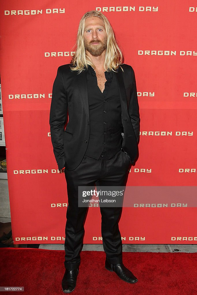 Actor Kaiwi Layman attends 'Dragon Day' Red Carpet at Downtown Independent Theatre on September 23, 2013 in Los Angeles, California.