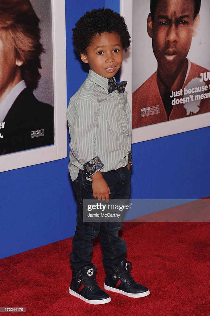 Actor Kaleo Elam attends the 'Grown Ups 2' New York Premiere at AMC Lincoln Square Theater on July 10, 2013 in New York City.