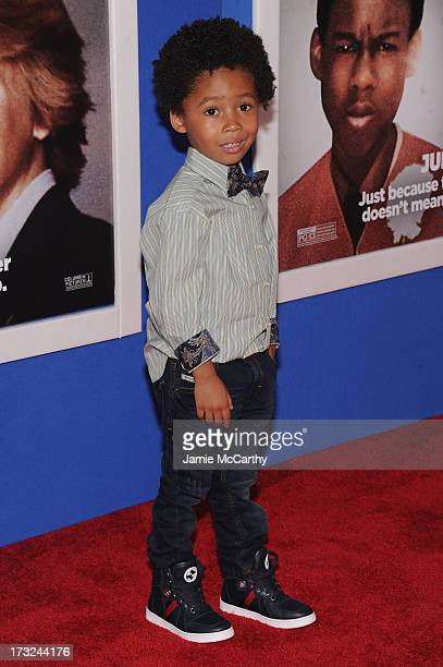 Actor Kaleo Elam attends the 'Grown Ups 2' New York Premiere at AMC Lincoln Square Theater on July 10 2013 in New York City