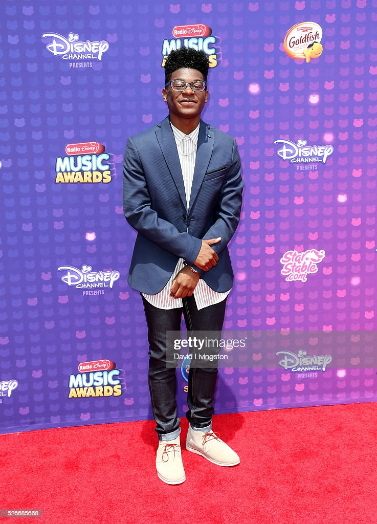 Actor Kamil McFadden attends the 2016 Radio Disney Music Awards at Microsoft Theater on April 30, 2016 in Los Angeles, California.