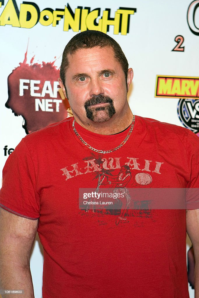 Actor Kane Hodder attends the 'Wrath of Con' Comic-Con party at Hard Rock Hotel San Diego on July 24, 2009 in San Diego, California.
