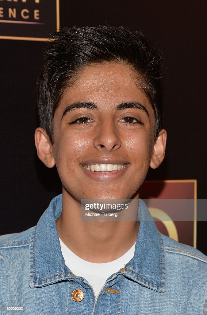 Actor Karan Brar attends The Celebrity Experience Panel at Hilton Universal City on July 12, 2015 in Universal City, California.