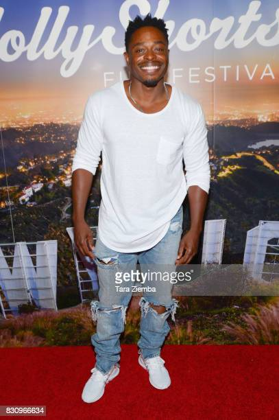 Actor Kareem J Grimes attends the Primetime Short Films series during the 2017 HollyShorts Film Festival at TCL Chinese 6 Theatres on August 12 2017...