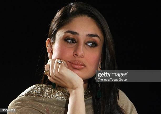 Actor Kareena Kapoor in an interview with India Today Group Editor Prabhu Chawla for the show Seedhi Baat in Mumbai on Wednesday November 11 2009
