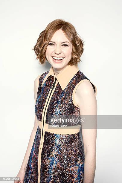 Actor Karen Gillian is photographed for Empire magazine on March 29 2015 in London England