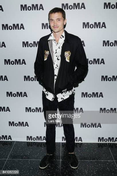 Actor Karl Glusman attends the MOMA screening of Refinery29's 'Come Swim' directed by Kristen Stewart at MOMA on August 30 2017 in New York City