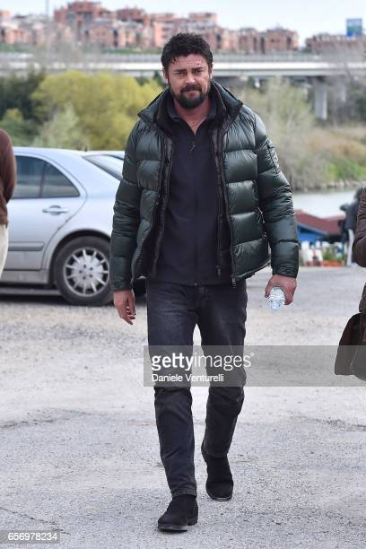 Actor Karl Uban attends On Set Of BENT By AMBI Media Groupon March 23 2017 in Rome Italy