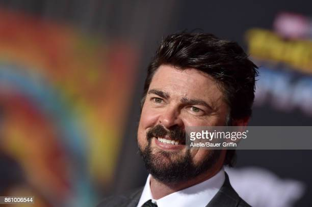 Actor Karl Urban arrives at the premiere of Disney and Marvel's 'Thor Ragnarok' at the El Capitan Theatre on October 10 2017 in Los Angeles California