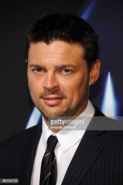 Actor Karl Urban arrives at the Star Trek DVD and BluRay release party at the Griffith Observatory on November 16 2009 in Los Angeles California