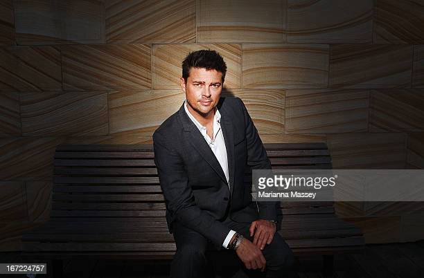 Actor Karl Urban at the 'Star Trek Into Darkness' photo call on April 23 2013 in Sydney Australia