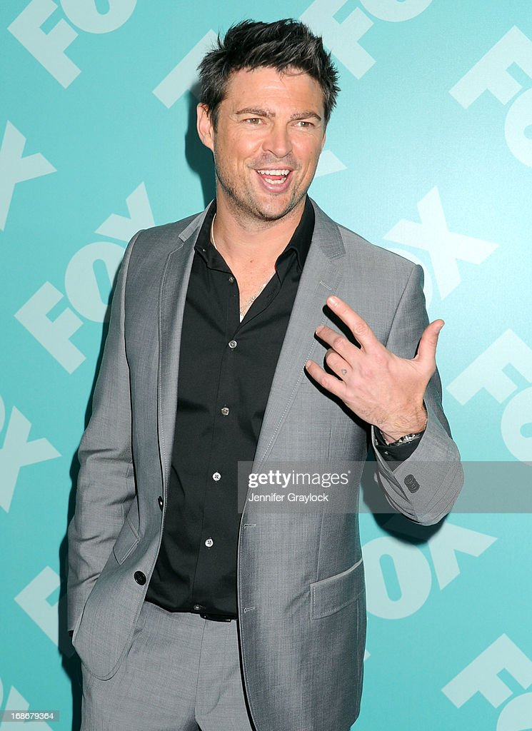 Actor Karl Urban attends the FOX 2103 Programming Presentation Post-Party at Wollman Rink in Central Park on May 13, 2013 in New York City.