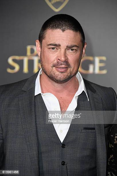 Actor Karl Urban attends the Premiere of Disney and Marvel Studios' 'Doctor Strange' on October 20 2016 in Hollywood California