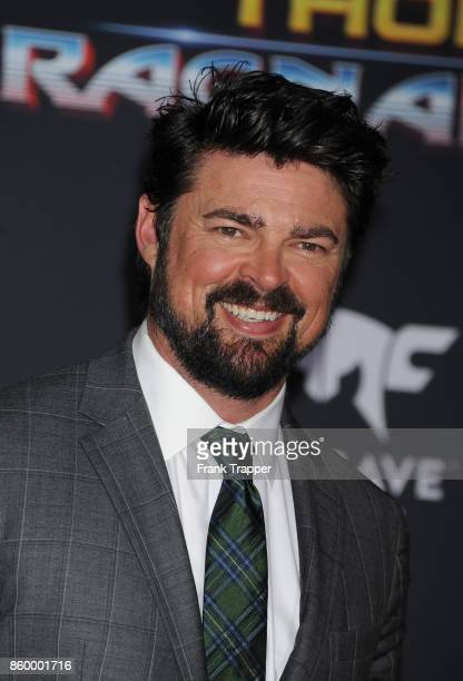 Actor Karl Urban attends the premiere of Disney and Marvel's 'Thor Ragnarok' on October 10 2017 at the El Capitan Theater in Hollywood California