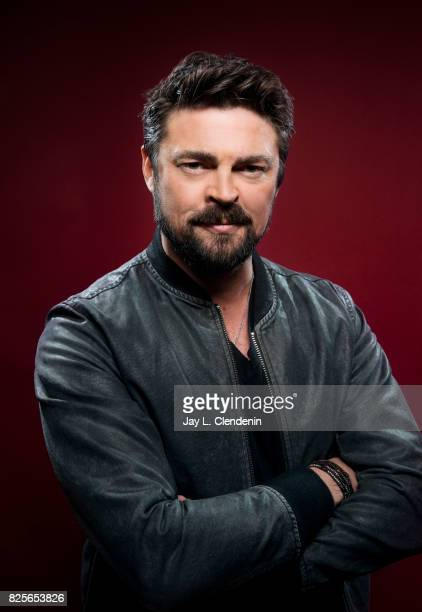 Actor Karl Urban is photographed in the LA Times photo studio at ComicCon 2017 in San Diego CA on July 22 2017 CREDIT MUST READ Jay L Clendenin /Los...