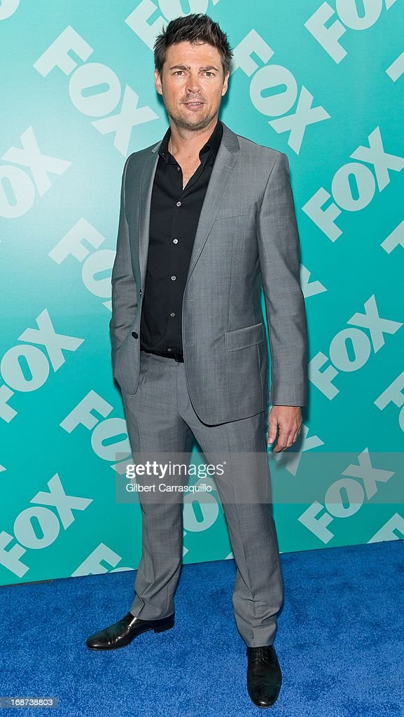 Actor Karl Urban of 'Almost Human' attends the FOX 2103 Programming Presentation Post-Party at Wollman Rink - Central Park on May 13, 2013 in New York City.