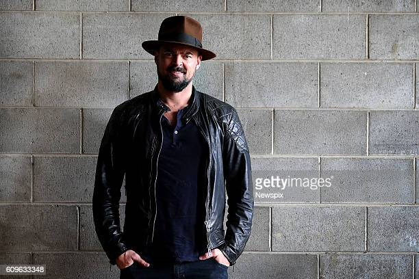 BRISBANE QLD Actor Karl Urban poses during a photo shoot at Oz ComicCon in Brisbane Queensland