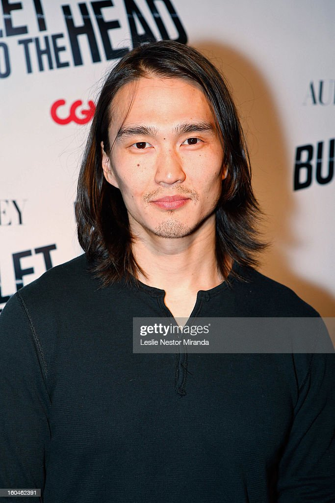 Actor Karl Yune attends 'Bullet To The Head' screening at CGV Cinemas on January 31, 2013 in Los Angeles, California.