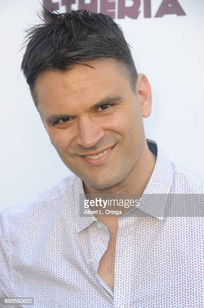 Actor Kash Hovey arrives for Etheria Film Night held at The Egyptian Theatre on June 3 2017 in Los Angeles California
