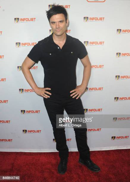 Actor Kash Hovey arrives for the INFOLISTcom's hosted PreEmmys Soiree Benefitting Victims Of Hurricane Harvey held at The Argyle on September 13 2017...
