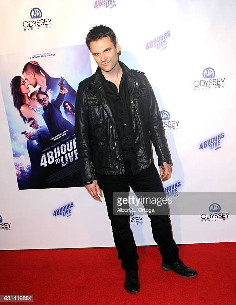 Actor Kash Hovey arrives for the Premiere Of Gravitas Pictures' '48 Hours To Live' held at TCL Chinese 6 Theatres on January 9 2017 in Hollywood...